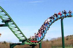 Aneh, Dilarang Teriak Saat Naik Roller coaster di Inggris
