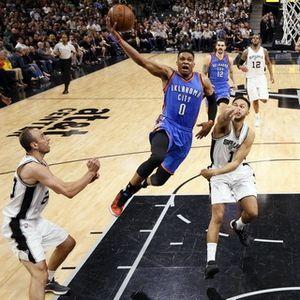 Balas Kekalahan dari Spurs, Thunder Samakan Kedudukan 1-1