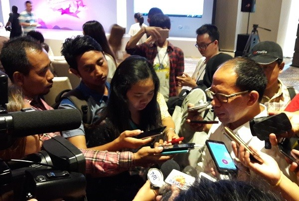 I Gde Pitana saat ditemui di program Baidu Travel Summit di Bali (Kurnia/detikTravel)