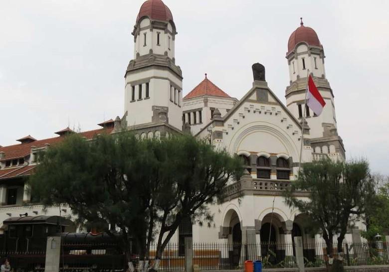 Lawang Sewu, kawasan wisata favorit yang dapat para pemudik datangi di Semarang (Fitraya/detikTravel)