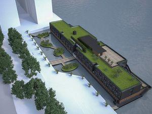London Bakalan Punya Hotel Terapung Bekas Gedung Penjara