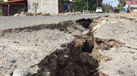 Banyak Jalan Antar Desa di Pidie Jaya yang Retak