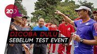 Sandiaga Uji Coba Lari, Nikmati Nuansa Baru Stadion GBK