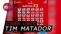 Lewat WhatsApp, Spanyol Umumkan Skuat Piala Dunia