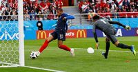 Highlights Babak I Prancis Vs Peru