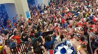 Bikin Merinding! Nyanyian Kekalahan Suporter Kroasia