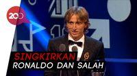 Luka Modric Pemain Terbaik Dunia