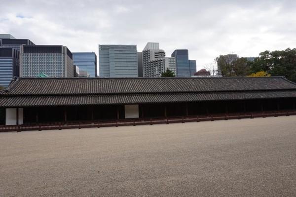 Guard House paling besar di kawasan istana, merupakan pusat dari seratus penjaga samurai