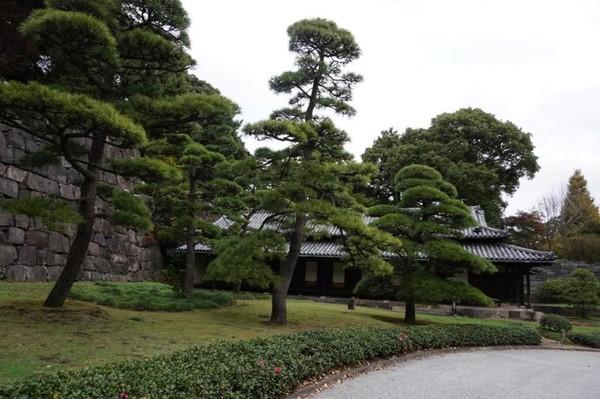 Guard House yang terletak dekat gerbang Ote-mon, merupakan check point bagi siapapun yang masuk dari gerbang ini