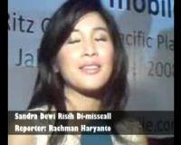 Sandra Dewi Risih Di-misscall
