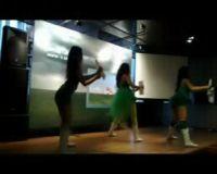 Sexy Dancer Goyang Peluncuran Produk Kaspersky
