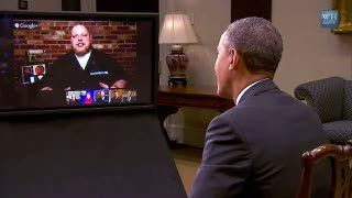 Obama Ngobrol Gunakan Google + Hang Out