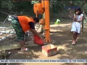 Penemuan Mayat Bayi di Tumpukan Sampah Kali Ciliwung