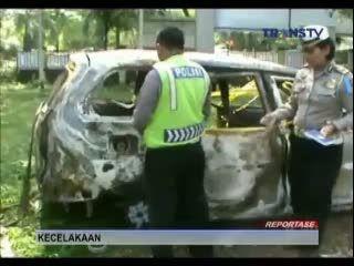 Polisi Temukan Pengemudi yang Menyebabkan 3 Kendaraan Terbakar