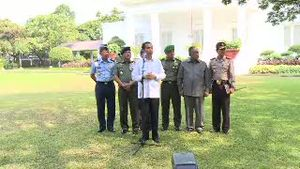 Presiden Jokowi Akui Ada 8 Orang Tak Diperbolehkan Menjadi Menteri oleh KPK dan PPATK