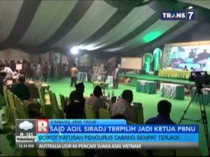 Said Aqil Siraj Terpilih Jadi Ketua PBNU