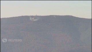 Jet Tempur F-16 Turki Tembak Jatuh Pesawat Militer Rusia