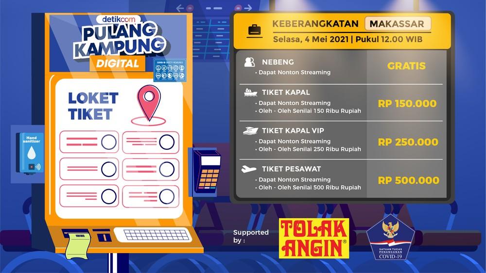 Pulang Kampung Digital ke Makassar