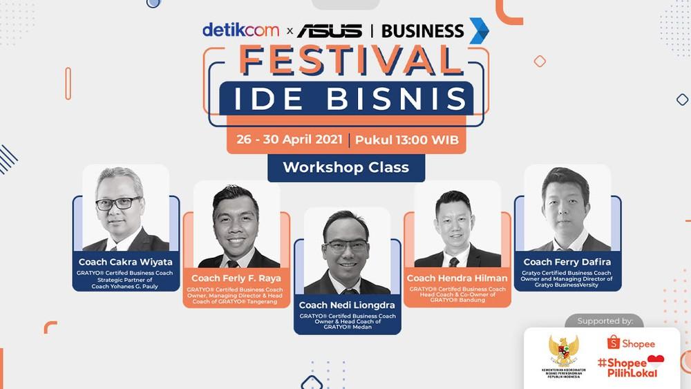 Festival Ide Bisnis: Workshop Class