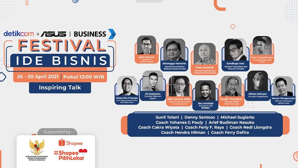 Festival Ide Bisnis: Inspiring Talks