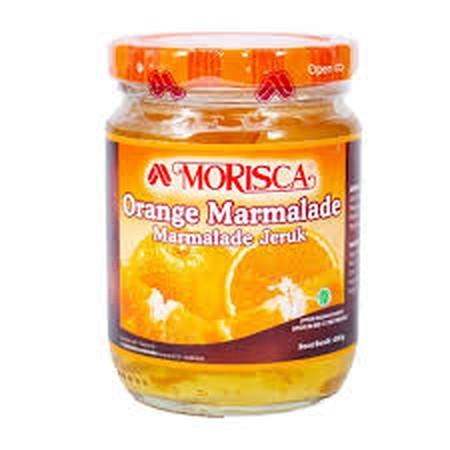 Morisca Orange Marmalade Jam Selai 250 Gr, Merupakan Selai Orange Yang Sangat Lezat. Cocok Dan Enak Untuk Roti Maupun Kue. Selain Itu Selai Ini Juga Cocok Untuk Dioleskan Sebagai Pendamping Makanan Ringan Seperti Roti Bakar Dan Biskuit.