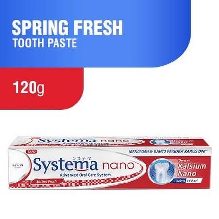 Systema merupakan pasta gigi yang dapat menjaga kesehatan gigi dan gusi.
