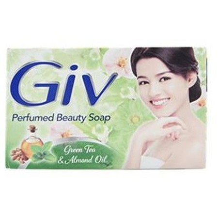 GIV soap is a Beauty Soap made with natural ingredients and fine fragrance to nourish and keep the skin beautiful. It contains natural moisturizer to keep the skin soft and moistirized. Each variant is infused with unique fine fragrance that suits differe