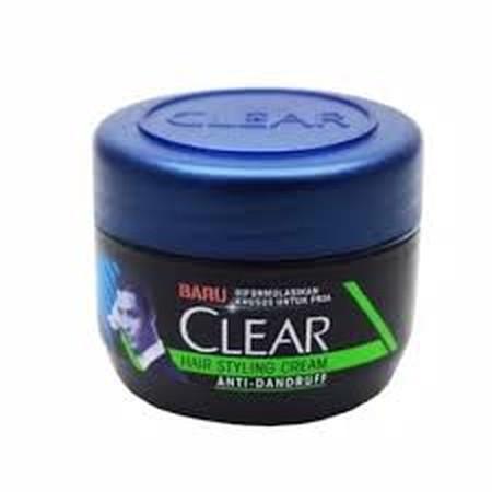 Clear Styling Cream 100Gr Merupakan Cream Penata Rambut Yang Ciptakan Khusus Oleh Clear Untuk Rambut Sesuai Dengan Gaya Anda Inginkan. Terbuat Dari Formula Khusus Anti Dandruff Sehingga Rambut Anda Manjadi Bebas Ketombe. Membuat Rambut Anda Menjadi Tertat
