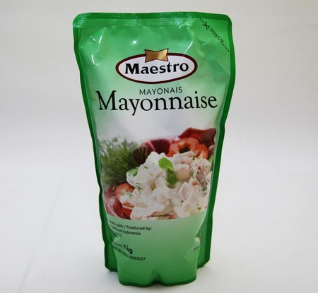 Maestro Mayonnaise Is Prepared Using Soybean Oil, Egg Yolk And Vinegar. It Has A Smooth Rich And Creamy Mouth Feel And Taste Great And Delicious On Salads, Sandwiches And Other Foods. To Enrich The Taste Of Your Vegetables Salads, Fruits, And Various Othe