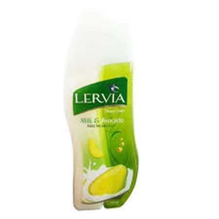 Lervia Shower Cream Milk Avocado merupakan lervia sabun susu mengandung goat's milk yang membantu proses peremajaan sel kulit dipadu dengan ekstrak madu yang baik untuk semua jenis kulit dan sebagai moisturizer yang mampu menjaga kelembaban alami kulit.