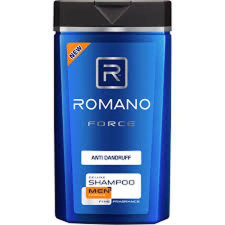 Romano Men Shampoo Force Anti Dandruff 170Ml - Romano Shampo Hadir Dikhususkan Untuk Merawat Rambut Pria. Sampo Ini Juga Mengandung Zn Pyrithione Dan Icy Menthol Yang Berguna Untuk Melindungi Kulit Kepala Anda Dari Ketombe Serta Menyegarkan Kulit Kepala S