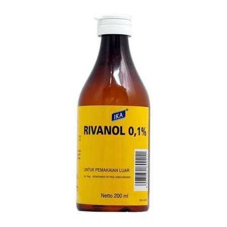 Rivanoladalah suatu zat kimia (etakridin laktat)antiseptikyang punya sifat bakteriostatik (menghambat pertumbuhan kuman). biasanya lebih efektif pada kuman gram positif daripada gram negatif. sifatnya tidak terlalu iritatif. Manfaat Rivanol Sebagai sal