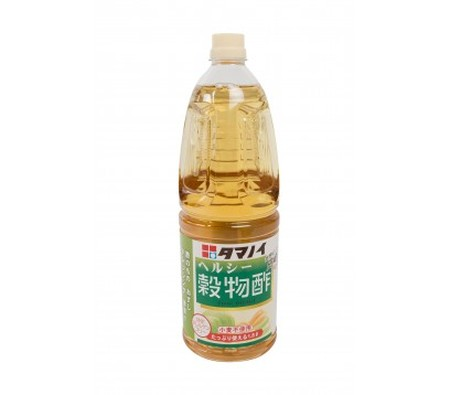 Cereal and rice based vinegar This vinegar has light acidity(4.2%), franc parfume but light. Espesially adapted to prepare salad, and for rice for sushi. It can also be used to marinade fishes, and vegetables (Tukemono). Gluten free.