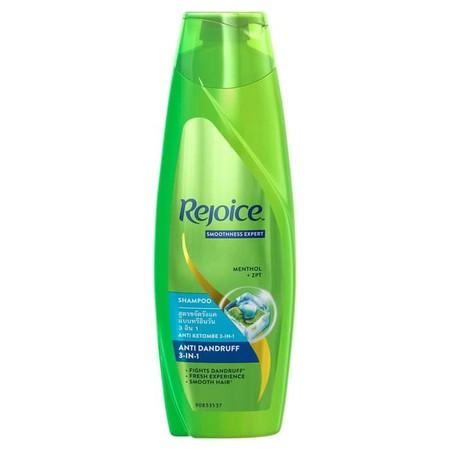 Rejoice Shampoo 3 In 1 170ml  - Menutrisi rambut hingga lapisan terdalam - Aroma wangi dan tahan lama - Formula khusus untuk rambut lembut - Berikanlah perawatan terbaik bagi rambut keluarga dengan menggunakan sampo dari Rejoice ini, untuk rambut Anda aka