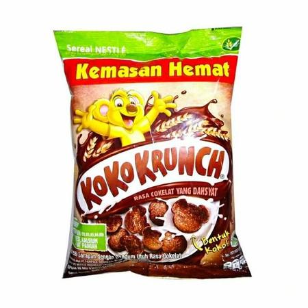 Koko Krunch Sachet 80Gr Merupakan Produk Sereal Dari Nestle Yang Kaya Vitamin, Kalsium, Dan Zat Besi. Dikemas Dalam Plastik Yang Higienis Dan Praktis Untuk Tiga Porsi. Tersedia Dalam Rasa Cokelat Yang Dahsyat. Sangat Cocok Untuk Menemani Sarapan Pagi Anda