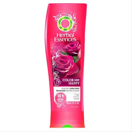 Herbal Essences Color Me Happy Conditioner is formulated to help protect color-treated hair. It replenishes softness and enhances shine to keep your color looking fresh, radiant, and irresistible. Plus, the luxurious Moroccan rose scent is simply to dye f