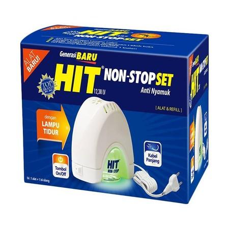 Hit Non Stop Set Extra Power adalah hit non stop yang dapat membunuh nyamuk, serangga dan lalat dengan cepat serta dapat memberikan ketenangan saat beraktivitas di rumah Anda.