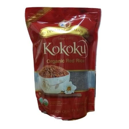 Kokoku Premium Red Rice merupakan beras merah yang diolah dari padi pilihan dan diproses secara higienis. Beras merah premium kokoku aman untuk dikonsumsi dan baik untuk yang sedang program diet. Beras merah ini berkualitas super sehingga ketika dimasak h