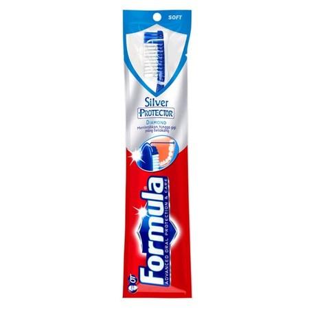 Formula Sikat Gigi Merupakan Sikat Gigi Dengan Bulu Yang Efektif Membersihkan Kuman Dan Plak Pada Gigi Sehingga Gigi Menjadi Bersih Dan Nafas Segar Menjadi Lebih Tahan Lama