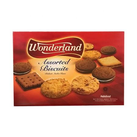 biskuit aneka rasa yang dibuat dari bahan-bahan berkualitas pilihan yang diolah dengan menggunakan resep asli biskuit tradisional sehingga menciptakan cita rasa biskuit yang gurih dan lezat. Hadir dalam kemasan 300 gr, biskuit ini memiliki berbagai piliha