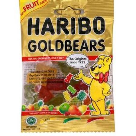 Haribo Goldbears Is The Original Gummi Bears And HariboS Number 1 In The Five Fruit Flavors Lemon, Orange, Pineapple, Raspberry And Strawberry.