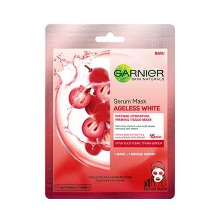 Tissue masker dengan Grape Seed Extract yang membantu merawat elastisitas kulit dan Hyaluronic Acid, zat aktif yang melembapkan. Manjakan dirimu dengan perawatan efisien yang segarkan & rawat elastisitas kulitmu. - Setelah 15 menit: Kulit terasa lembab, t