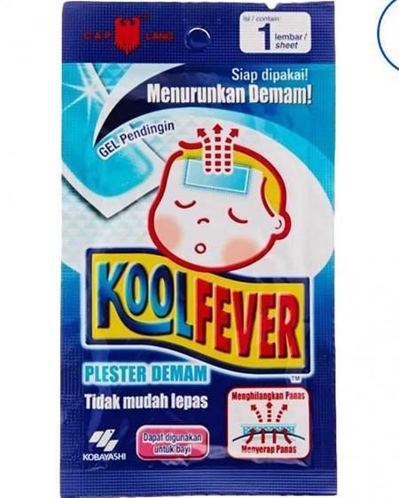 Plester Khusus untuk bayi yang sedang mengalami demam.Penanganan yang sangat cepat dan praktis untuk menurunkan demam bayi anda. Indikasi : - Membantu menurunkan panas dan meringankan demam secara alami. - Dapat digunakan kapan saja ketika bayi anda mende