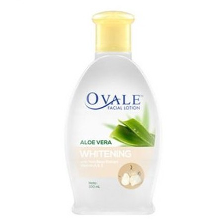 One practical step facial cleanser containing Aloe Vera and Vitamin A and Vitamin E