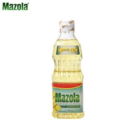 Not Only Does It Taste Great, Mazola Canola Oil Is Made Purely From Cholesterol Free Canola Plant Seeds And Has Just Half The Saturated Fat Of Regular Vegetable Oil (One Gram Per Tbsp).