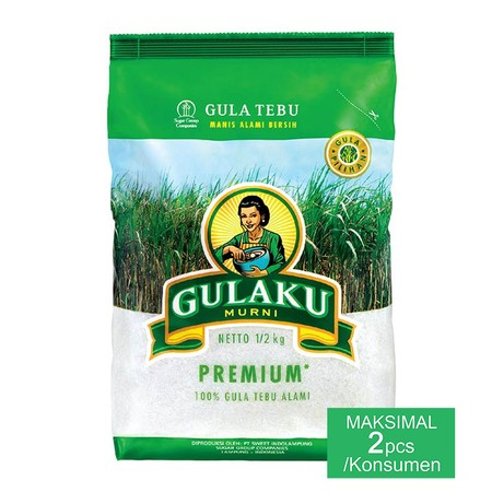 Sugar Cane Made Form Selected Ingredients, High Quality Processed That Produced The Best Crystal Sugar  500G Sugar Cane Is Pure Sugar Made From Genuine Cane Sugar. Hygienically Processed That Meets Quality Standards, So That It Can Produce Sugar That Is S