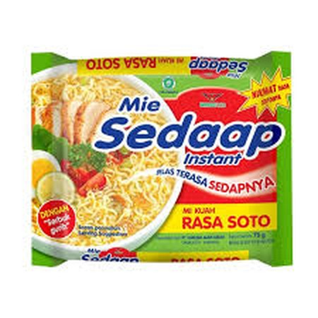 Mie Sedaap is one of the top famous leading instant noodles brand. Mie Sedaap made with superior qualities ingredients from natural and fresh spices and ingredient formulation. Mie Sedaap has received widespread acceptance due to its ground breaking good
