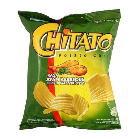 Chitato Snack Potato Terbuat Dari Kentang Asli Dengan Potongan Bergelombang Yang Hadir Dalam Rasa Sapi Panggang Yang Tebal Dan Kuat Untuk Memberikan Pengalaman Baru Dalam Setiap Gigitannya. Keripik Kentang Chitato Diproses Secara Higienis Dan Modern Tanpa