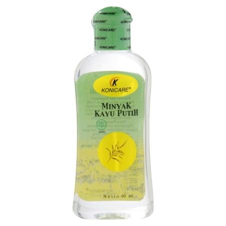 Konicare Minyak Kayu Putihbermanfaat untuk meredakan perut kembung, masuk angin, gatal-gatal, serta memberikan rasa hangat pada tubuh.