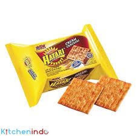 Hatari Malkist Sugar Crackers merupakan malkist yang renyah dan gurih dengan taburan gula, sehingga menghasilkan malkist yang manis dan nikmat untuk dijadikan cemilan sehari - hari dan berbagai acara lainnya.